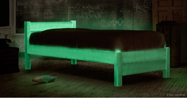 Glow In The Dark Bed – never lose your bed at night again