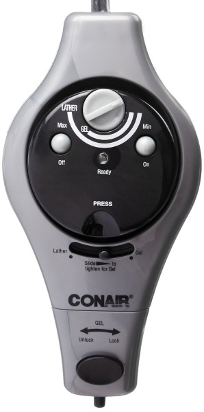 Conair Gel and Lather Heating System – get a nice, warm shave
