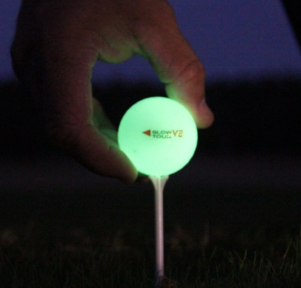 Glow V2 – stay on par with these night golf balls