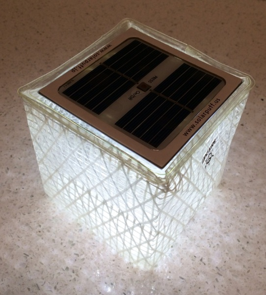 Solarpuff – the eco-friendlier solar lamp