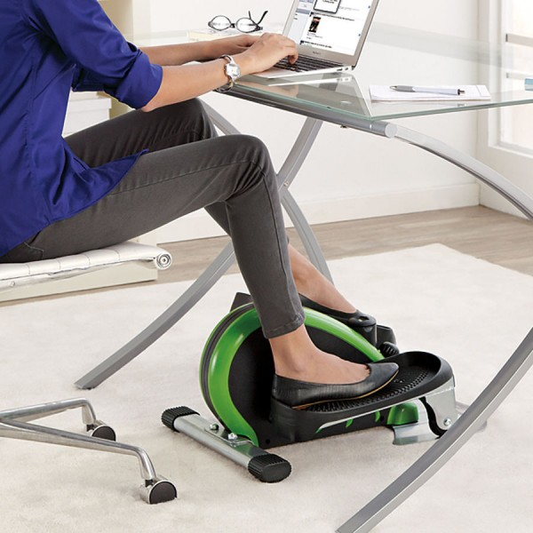 Stamina Elliptical Trainer in use