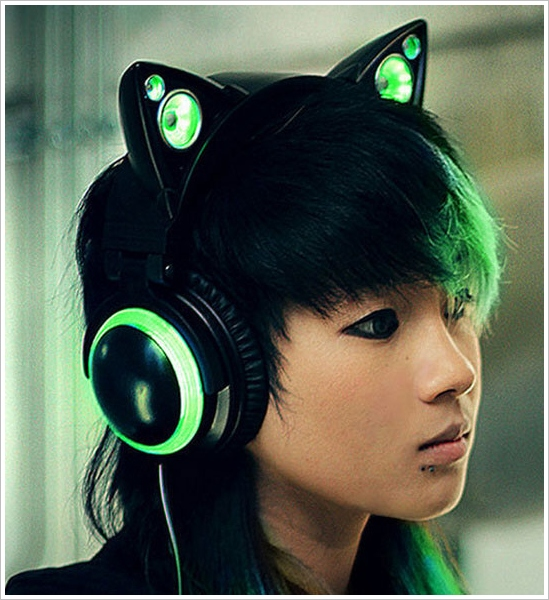 Cat Ear Headphones – suddenly you're purrfectly cool
