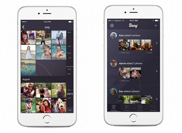 Bevy – digital photo storage and sharing made easy
