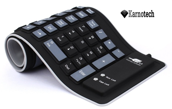 Foldable Silicone Keyboard – for the life that needs a backup keyboard