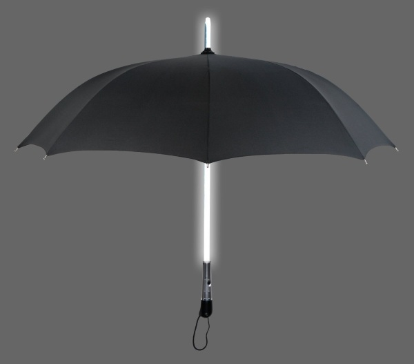 LED Flash Light Umbrella – stay dry whether you're a replicant or not