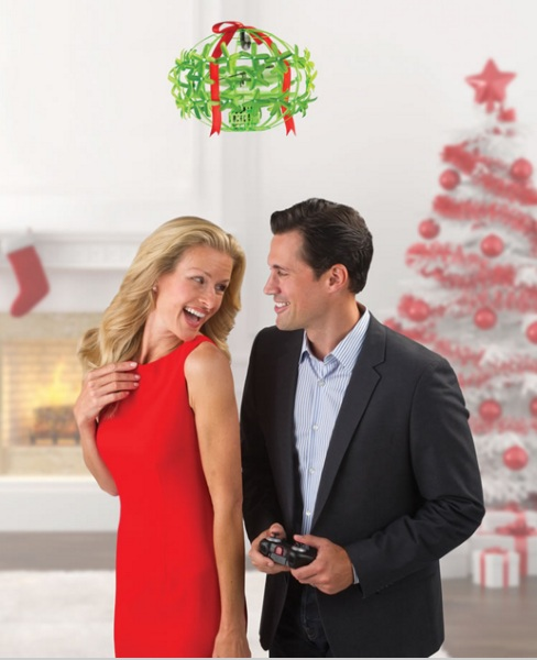 Mistletoe Drone – pilot your way to a stealth smooch