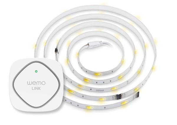 WeMo + OSRAM Lightify Flex RGBW Starter Set – tube lights for the 21st century
