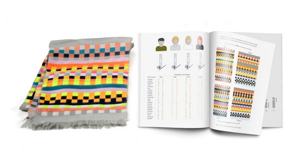 DNA Scarf – let your genes keep you warm