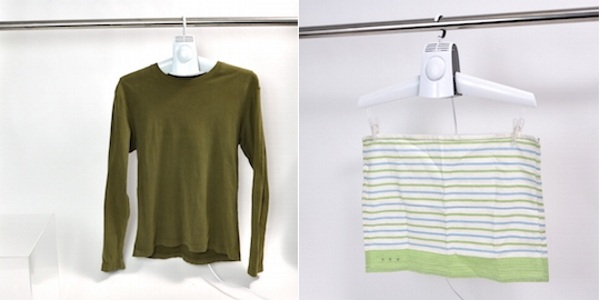 Electric Clothes Dryer Fan Hanger – don't let a little water ruin your whole look
