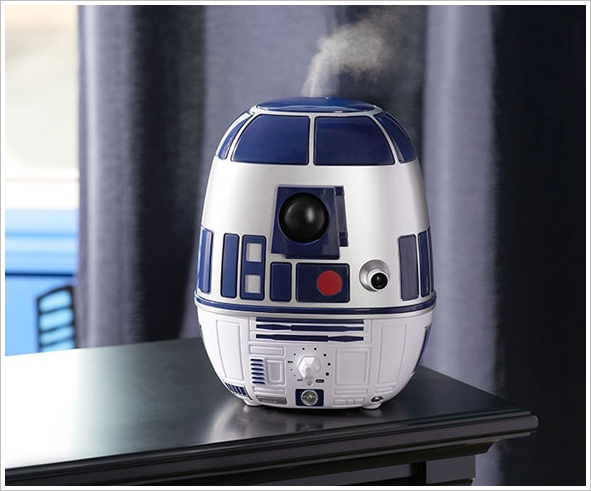 R2D2 Humidifier – the force, or something equally hilarious and trendy, comes to your bedroom