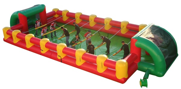 Foosball Inflatable – have some friends over for a giant game