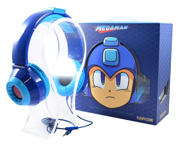 Mega Man HD LED Headphones – blast some sound
