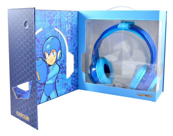 Mega Man LED HD Headphones inside