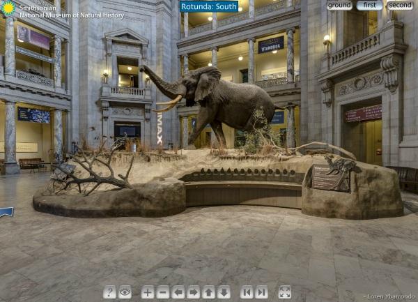 Smithsonian Virtual Tour Desktop