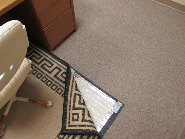 SpeedHeat Rugbuddy – use your rug to keep your feet nice and warm