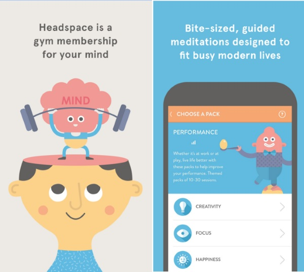 Headspace make room in your mind with this app the red for Build a room app