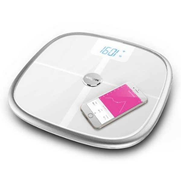 Koogeek Bluetooth Wi-Fi Smart Scale – keep track of your progress with this synced scale