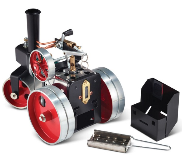 Mamod Steamroller – the tiny steamroller for your steampunk fantasies