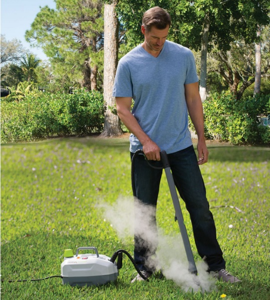 Weed Killing Steamer – use hot air to take out these lawn pests