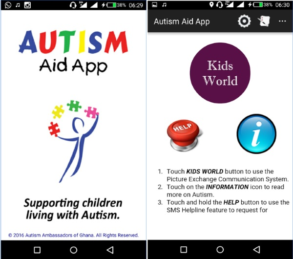 Autism Aid – the app created to spread Autism awareness