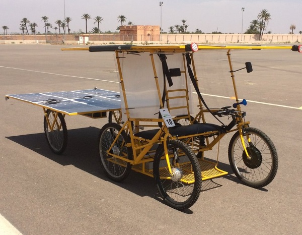 Solar E Cycle – the sun powered bikes looking to help make life better for those who live off grid
