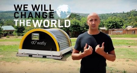 Watley – the computer that cleans water, creates electricity and delivers the web