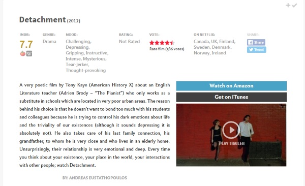 A Good Movie To Watch – this site knows what you should watch next