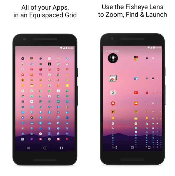 Lens Launcher – the all on the screen app launcher
