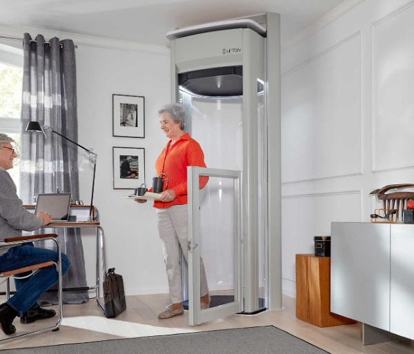 LiftonDuo Home Lift – Dr. Who or Star Trek? You be the judge of this home elevator