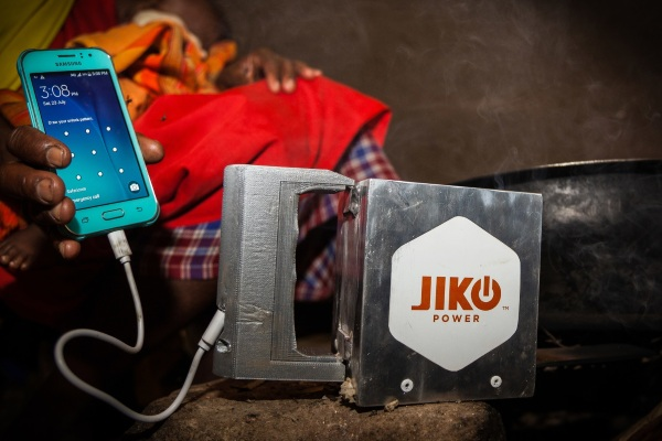 Jiko Power – the device that turns fire into electricity