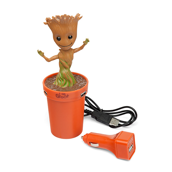 Marvel Groot USB Car Charger – this Groot will travel anywhere with you