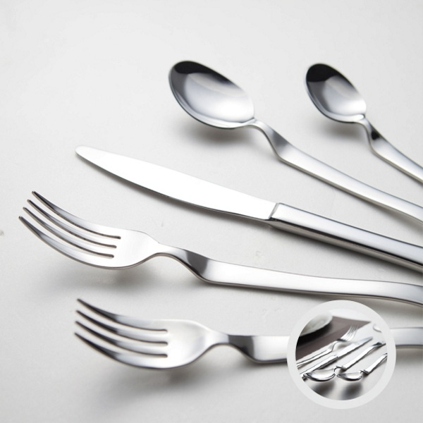 Heads Up Flatware – your fork shouldn't touch anything but food and your mouth