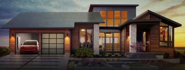 Tesla Solar Roofs – check out this super attractive solar roof tiles