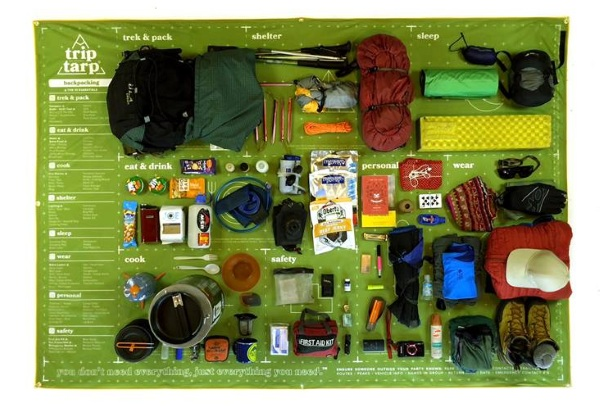 Trip Tarp – a preppers quick start guide for the wilderness