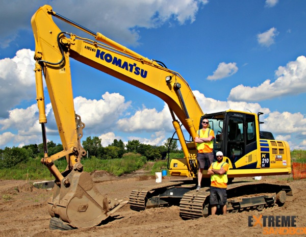 Extreme Sandbox – live your heavy equipment fantasies