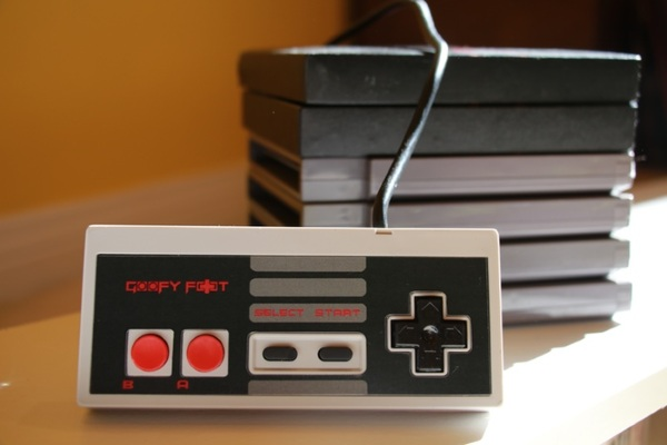 Goofy Foot – the classic Nintendo controller for left handed players