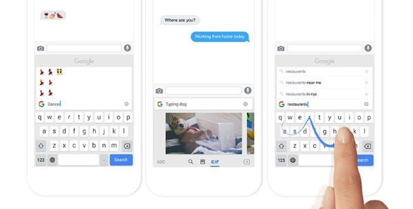 Gboard – get gif and emoji search with this keyboard
