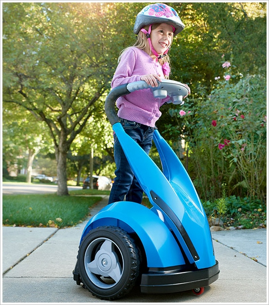 Kids Personal Transporter – Healthy exercise? That's for wimps right?