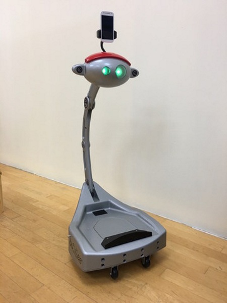 5e Nannybot – keep an eye on your kids even when you're out of the room