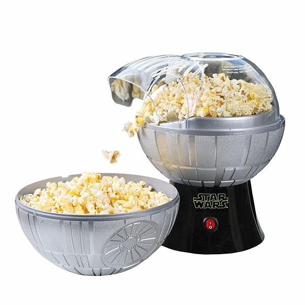 Death Star Popcorn Maker – may the snacks be with you