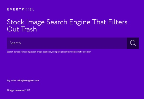 EveryPixel – find the perfect image for projects with a budget