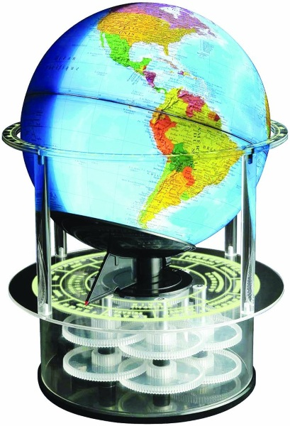 Night N Day Mechanical Globe – watch as the world goes from day to night