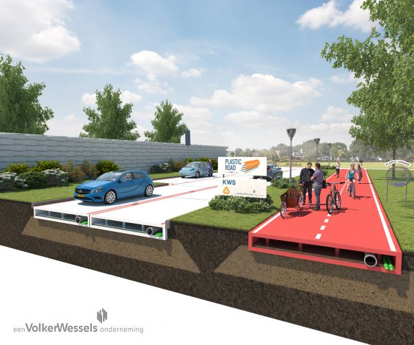 PlasticRoad – the road made from our plastic waste