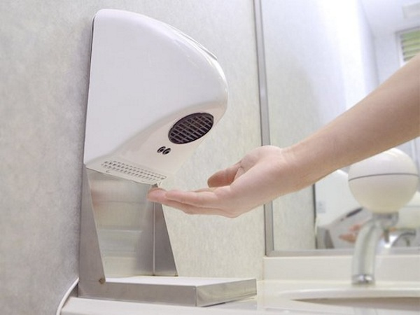 Compact Hand Dryer – no more damp towels