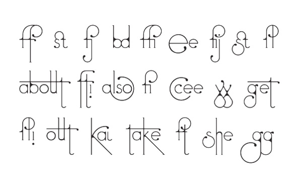 Futuracha Pro – the font that changes as you type