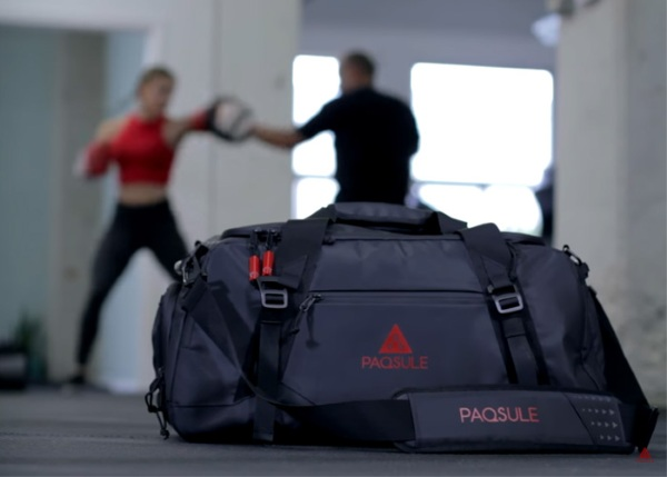 Paqsule – get the odor out of your gym clothes without taking them out the bag