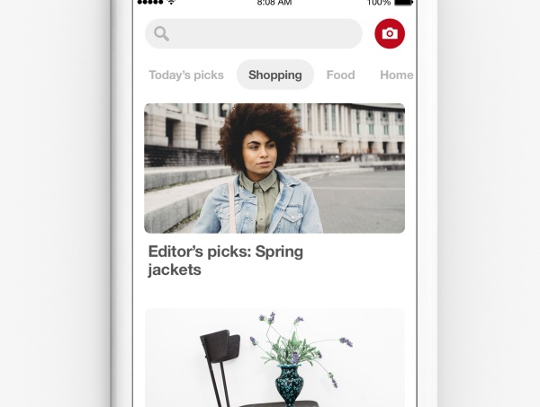 Pinterest Lens – not quite a personal shopper but use this to find new pins