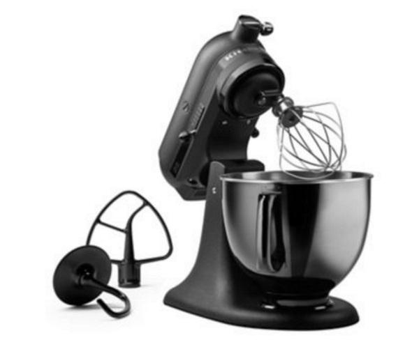 Black Tie KitchenAide – the darkest of mixers