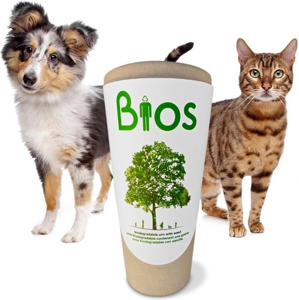 Bios Urn for Pets – turn your furry loved one into a tree after they pass