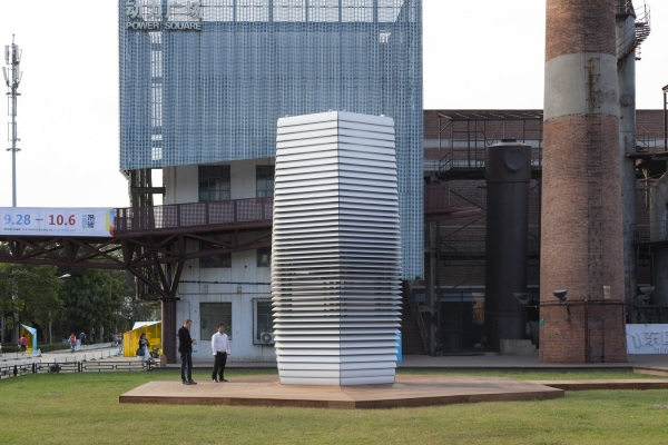 Smog Free Project – the future of clean air may be smog sucking bikes